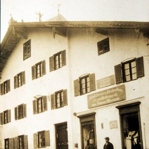 Historie Modehaus Obermaier Moden Glonn Grafing Eisenwarenhandlung Steinberger