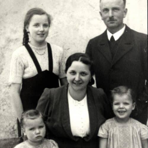 Historie Modehaus Obermaier Moden Glonn Grafing Obermaier Großeltern