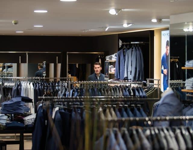 Personal Shopping Herrenabteilung Anzug Modehaus Obermaier Moden Glonn Grafing